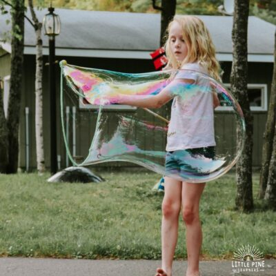 The Best Giant Bubble Recipe