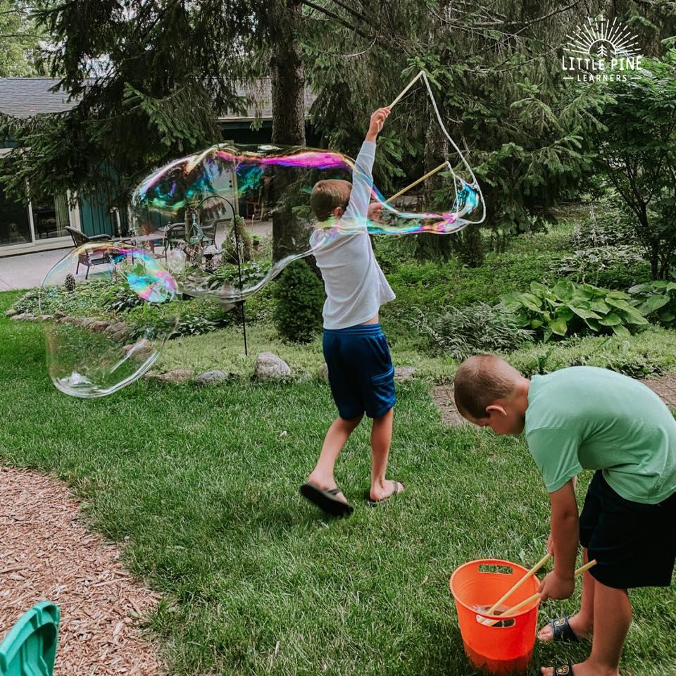 Fun backyard activites!
