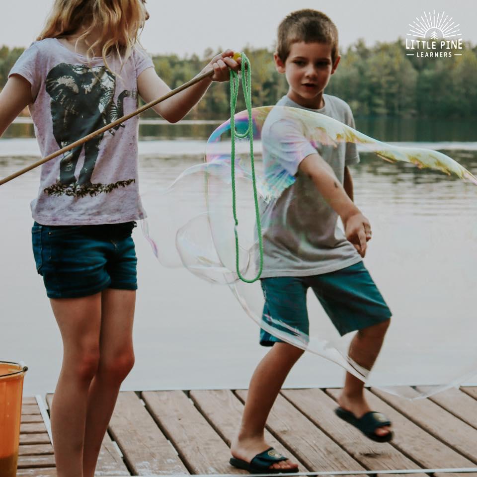 Simple backyard activities